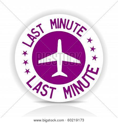 Sticker Last Minute