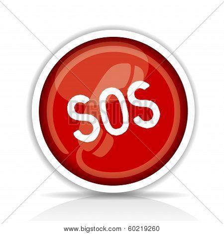 Sticker SOS