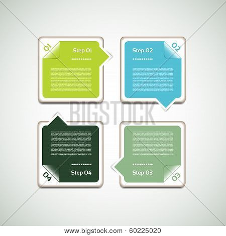 Vector Progress Background / Product choice or Version. eps 10