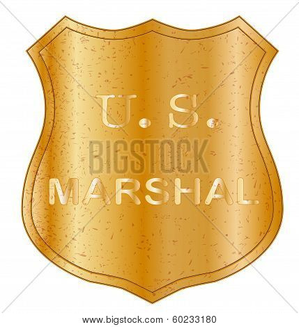 Unites States Marshal Shield Badge