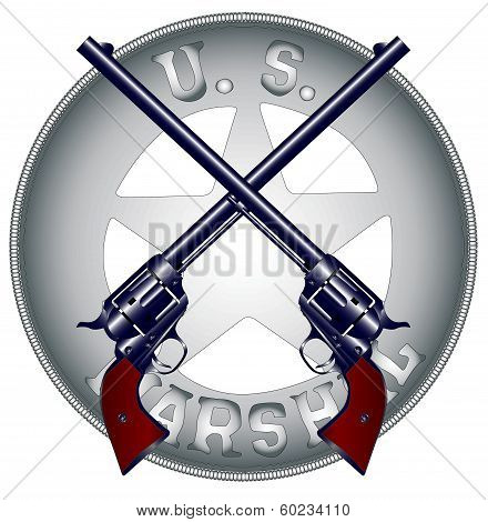 Guns And Badge