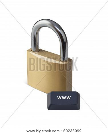 Internet Security With Clipping Path