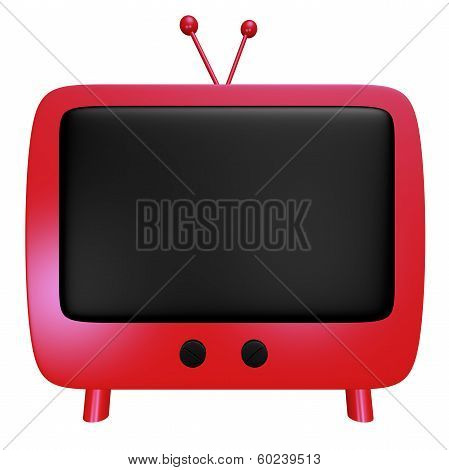 Red Cartoon Tv