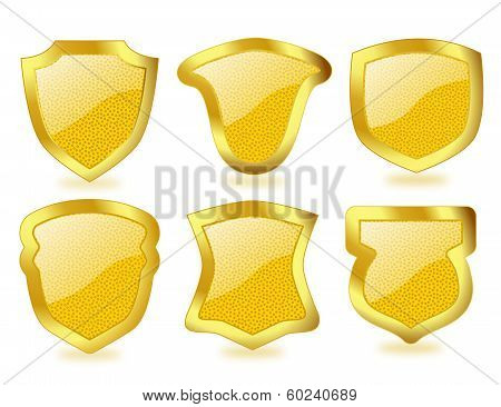 Shiny Golden Shields