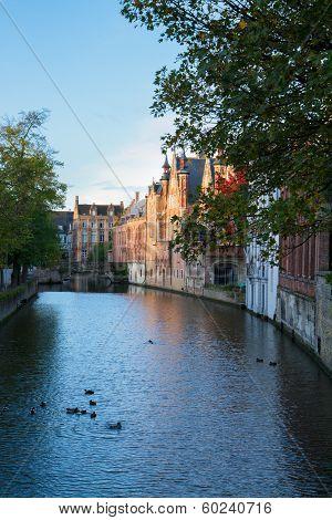 street of old Brugge