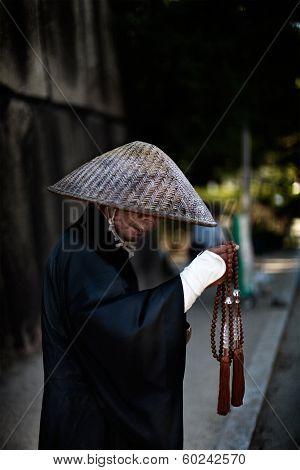 Japanese Wandering Monk