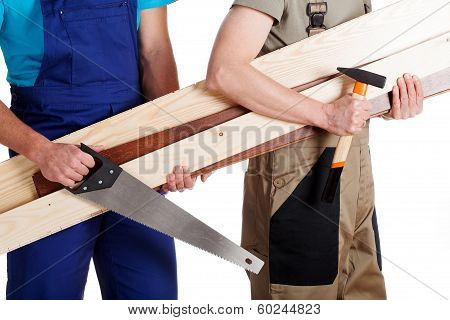 Carpenter And A Builder