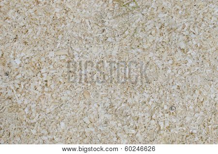 Background of sawdust
