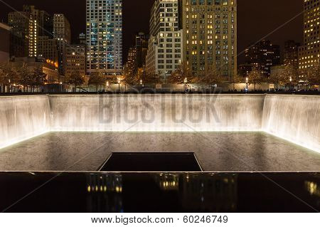 Memorial Fountain, World Trade Center