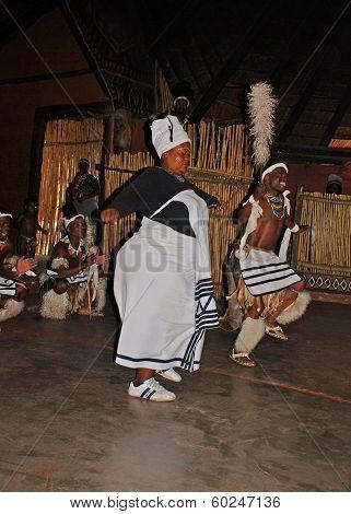 Zulu Dancers, South Africa.