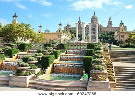 National Art Museum In Barcelona, Spain