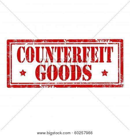 Counterfeit Goods-stamp