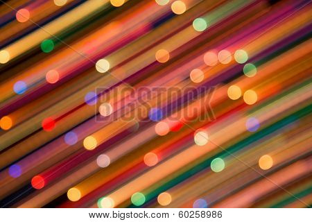 Bright background of dynamic lights.  Firework