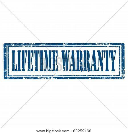 Lifetime Warranty-stamp