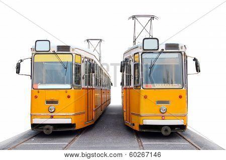 Orange Trams