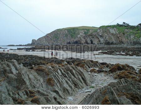 rocky beach, Ilfracombe