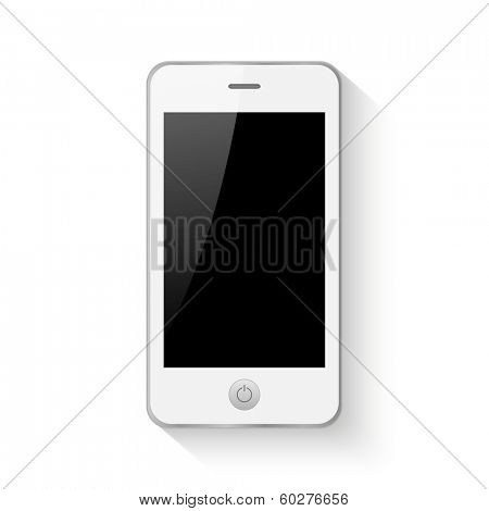 Mobile smartphone vector illustration