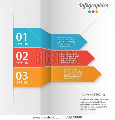 Business infographics vector illustration