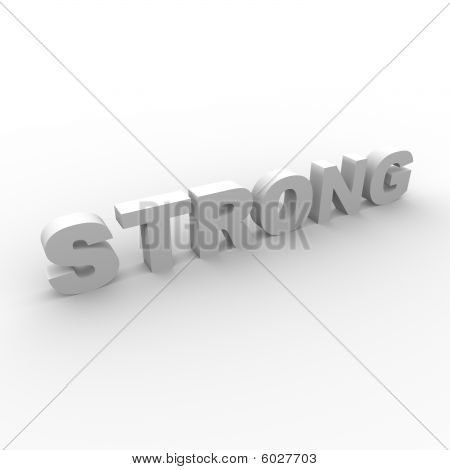 STRONG letters