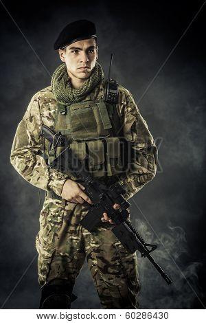 Soldier From Dark