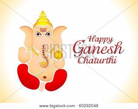 Abstract Ganesh Chaturthi