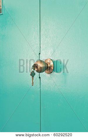 Aluminium Door Knob