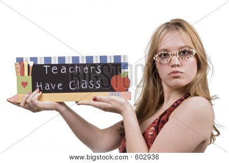 Aluno professor
