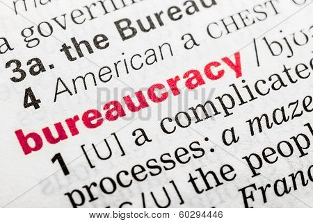 Bureaucracy Word Definition