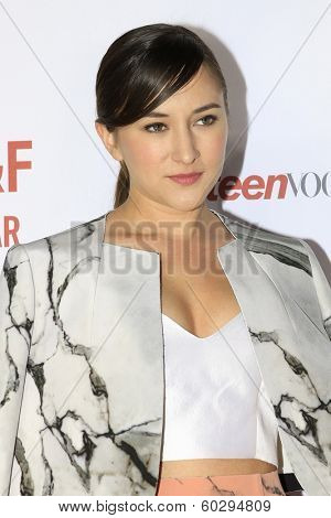 LOS ANGELES - FEB 22: Zelda Williams at the Abercrombie & Fitch 'The Making of a Star' Spring Campaign Party on February 22, 2014 in Los Angeles, CA