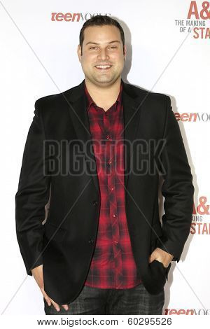 LOS ANGELES - FEB 22: Max Adler at the Abercrombie & Fitch 'The Making of a Star' Spring Campaign Party on February 22, 2014 in Los Angeles, CA