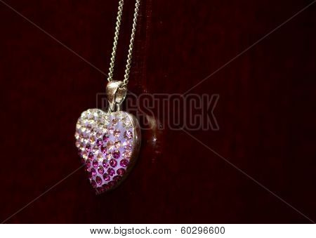 Jewelry Heart With Dices