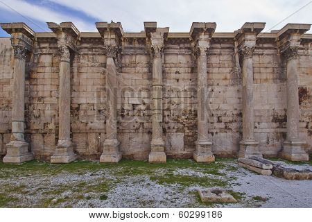 Hadrian's library Athens Greece
