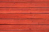pic of barn house  - Old red grunge wood panels used as background - JPG