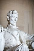 picture of abraham lincoln memorial  - Statue of Abraham Lincoln - JPG