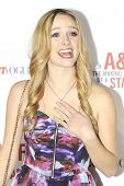 LOS ANGELES - FEB 22: Greer Grammer at the Abercrombie & Fitch 'The Making of a Star' Spring Campaig