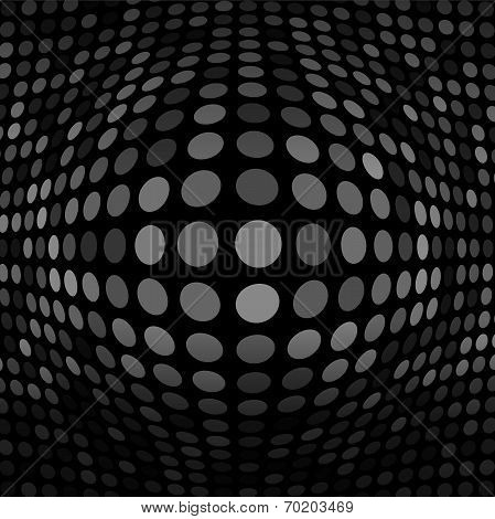 Abstract Dark Gray Technology Background