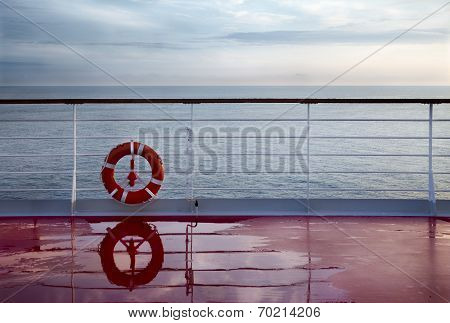 Railing Ship Deck