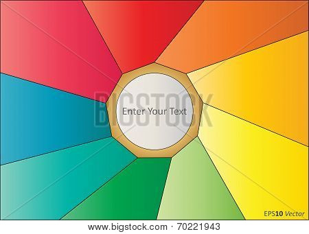 Multicoloured Vector Background