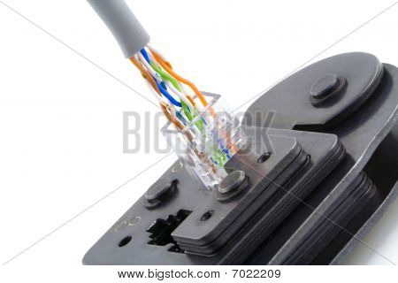 Internet Kabel Anschluß Makro