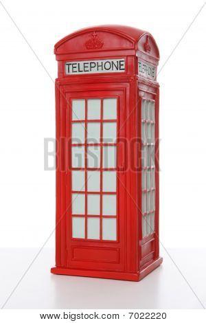 British Red Phone Booth