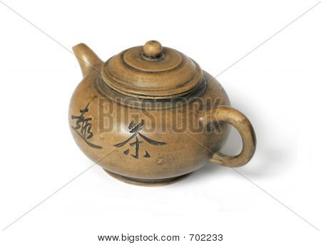 Old Chinese Tea Pot
