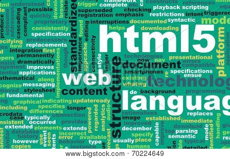 HTML 5 Web Development Language as Concept