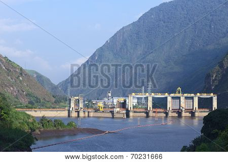 Agoyan Hydroelectric Plant in Ecuador