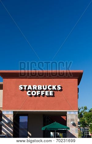 Starbucks Coffee Shop Sign