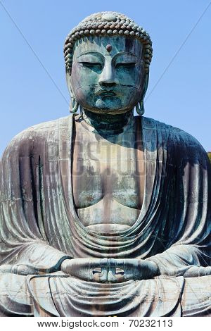 Daibutsu - The Great Buddha of Kotokuin Temple in Kamakura