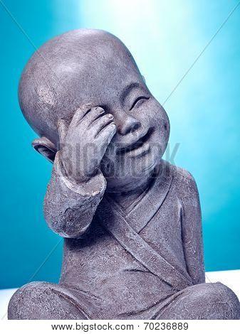 Laughing Stone Buddah