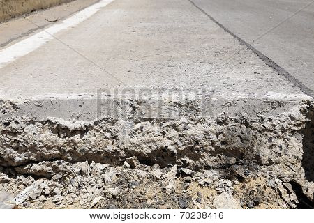 Layer Of Cutting Road