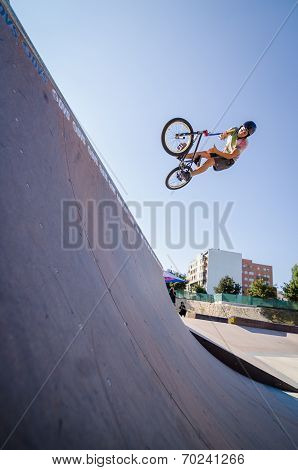 Joao Pires During The Dvs Bmx Series 2014 By Fuel Tv