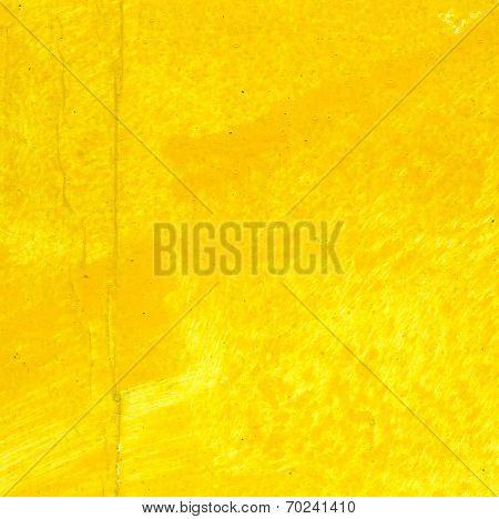 Painted Yellow Texture