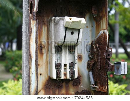 Old Electricity Switch, Breaker
